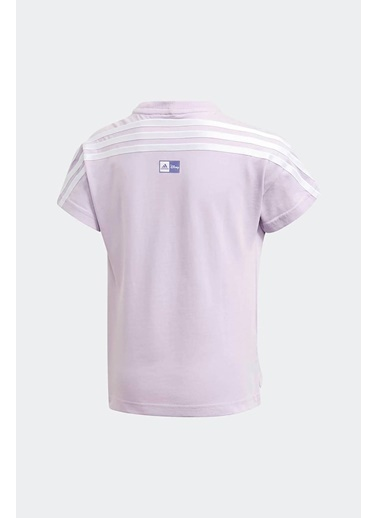 adidas Adidas Kız Çocuk Koşu - Yürüyüş T-Shirt Lg Dy Fro Tee Gm6926 Renkli